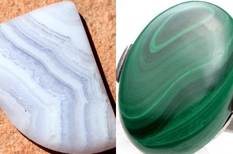 石の品質とエネルギー ブルーレースアゲートやマラカイト